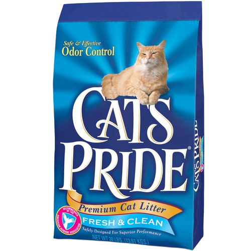 Cat's Pride: Premium Cat Litter Fresh & Clean, 30 Lb