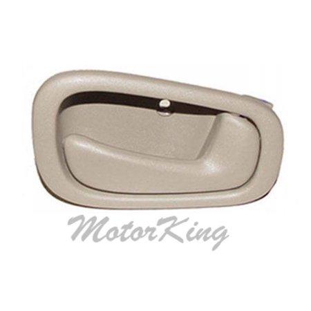 MotorKing B599 Front Right/Rear Right Tan Inside Door Handle (Fits For 98-03 Toyota Corolla)