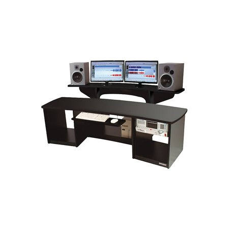 Omnirax Force 24 Studio Desk Black Walmart Com