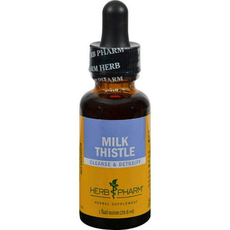 7 Ounce Liver - Herb Pharm Milk Thistle Extract - 1 Ounce
