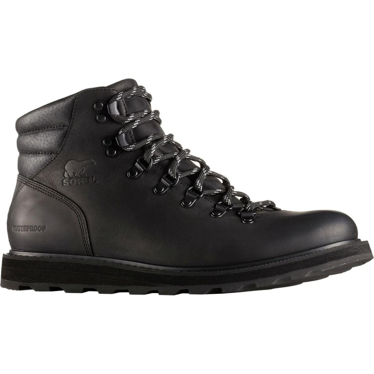 SOREL Madson Hiker Waterproof Men's Waterproof Boots Black (13)