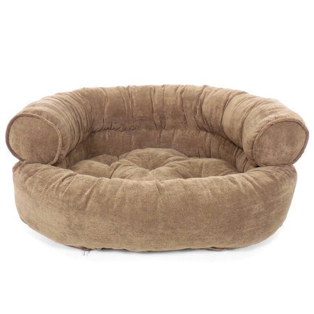 Arlee 59 40097snd Orthopedic Franklin Textured Solid Comfy Couch Pet Bed