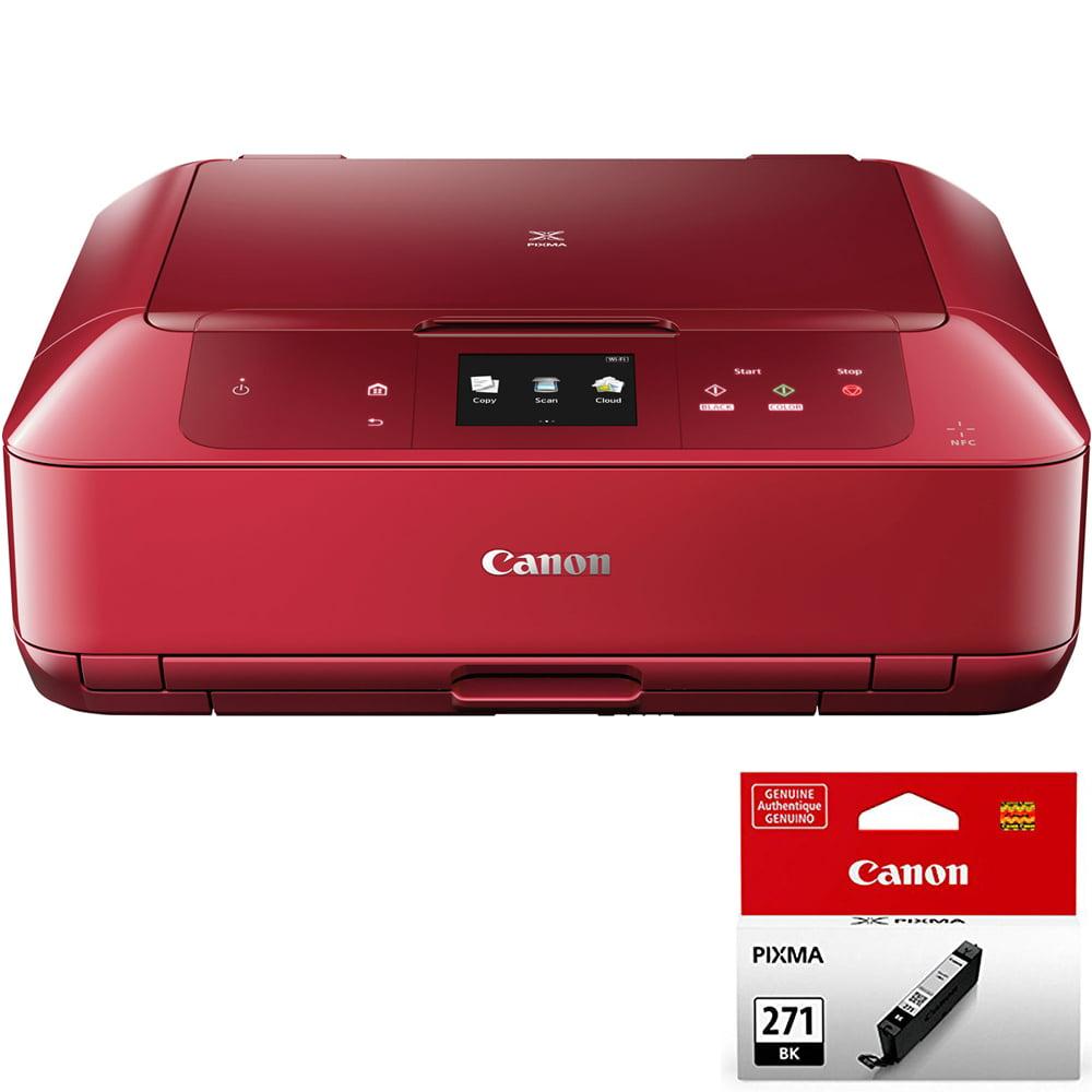 Canon PIXMA MG7720 Wireless Inkjet All-In-One Printer w/ CLI-271 Black Ink Bundle