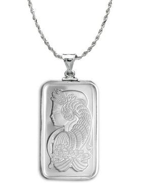 20 gram Silver - Fortuna Pendant (w/Chain)