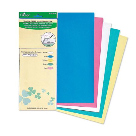 Clover Chacopy Tracing Paper-Tracing Wheel and Double Tracing Wheel 3-piece value