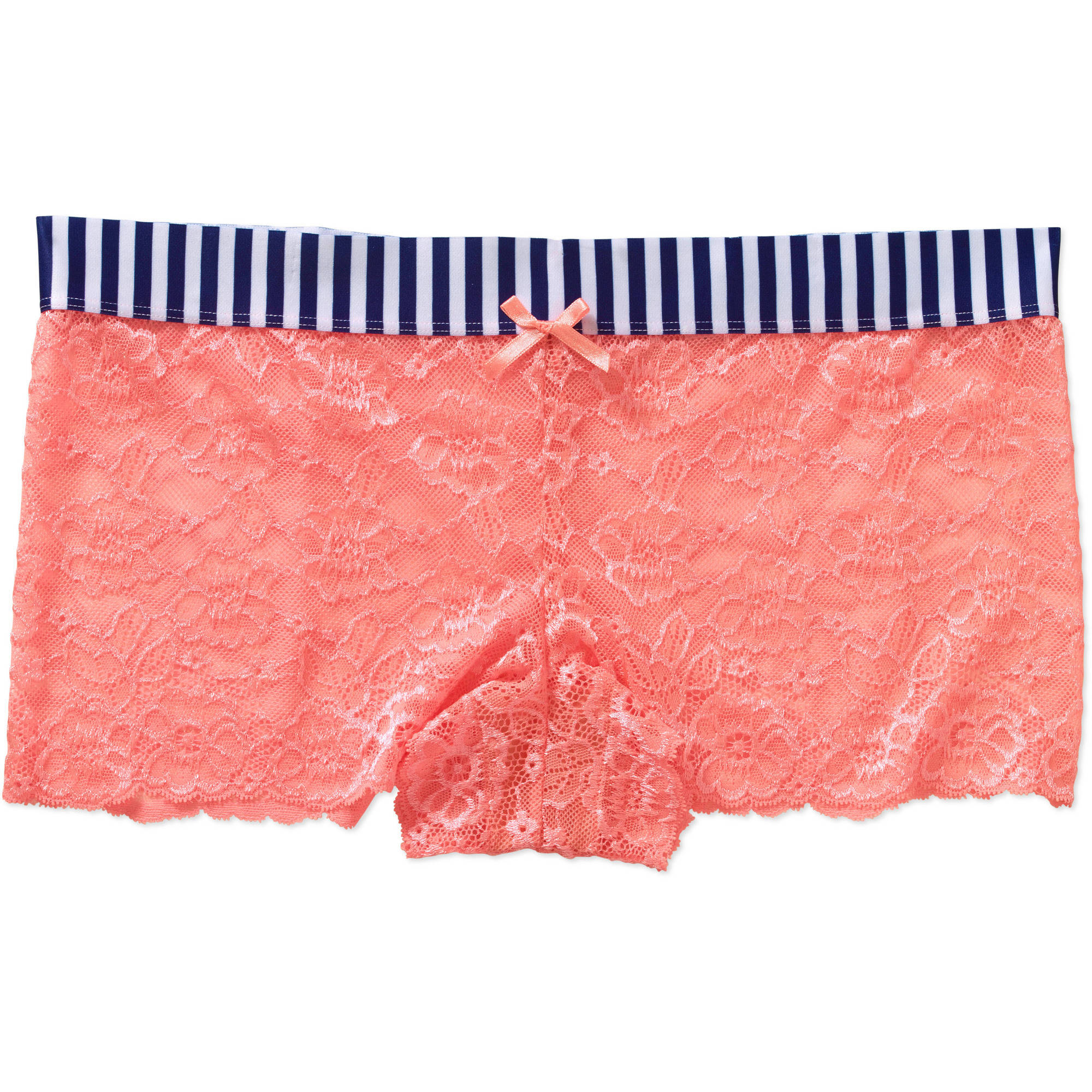 No Boundaries Ladies' Lace Boxer Panty