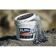 Adventure Products 41203 Fling Cast 6 Foot Net - 0.5 Inch Mesh
