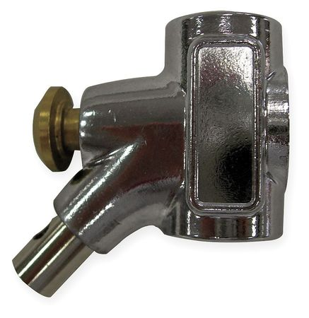 "Westward 2ZYC5 Chrome 1/2""L Air Gun"