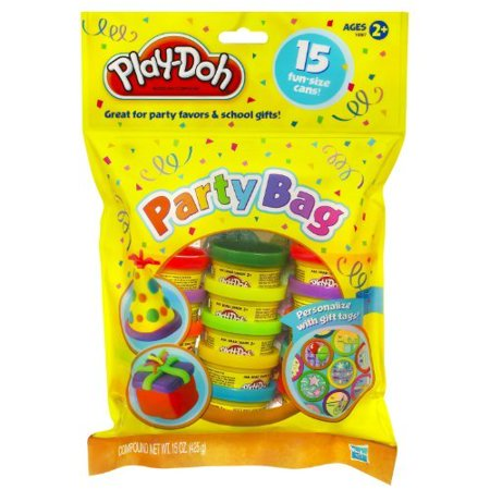 Play Doh Party Favors (Play-Doh Party Bag Dough, 15 Count (assorted)