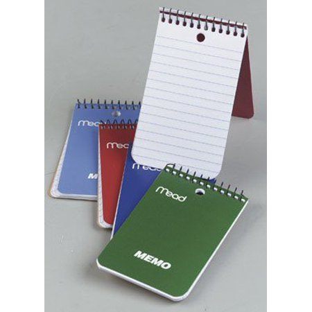 Mead 45354 Memo Book, 3X5-Inch (60 sheets, 24 Pack) (Mead Memo Book)