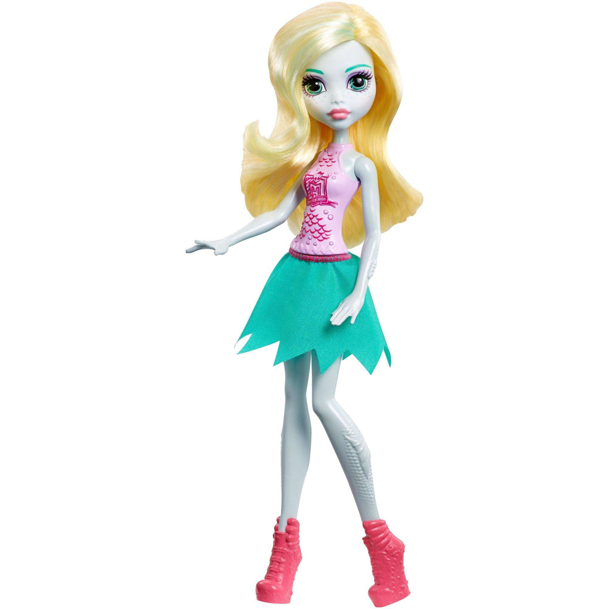 Monster High Cheerleader Lagoona Blue Doll by MATTEL INC.