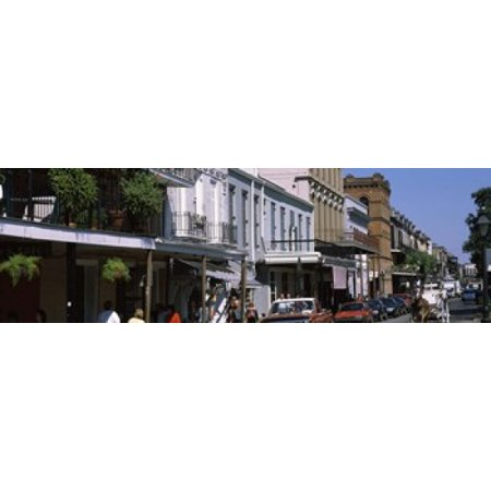 Buildings in a city French Quarter New Orleans Louisiana USA Canvas Art - Panoramic Images (18 x 6) - City Park New Orleans Halloween
