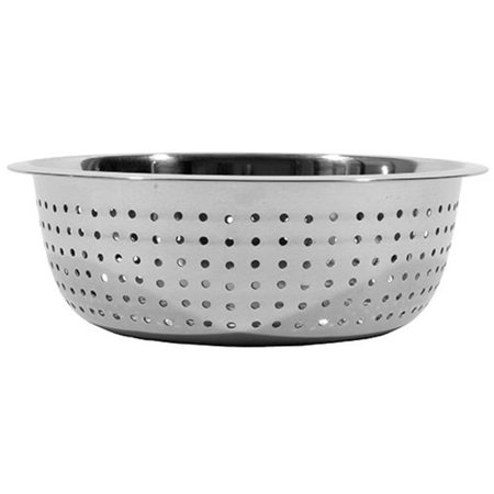 15 in. Stainless Steel Large Hole Chinese Style