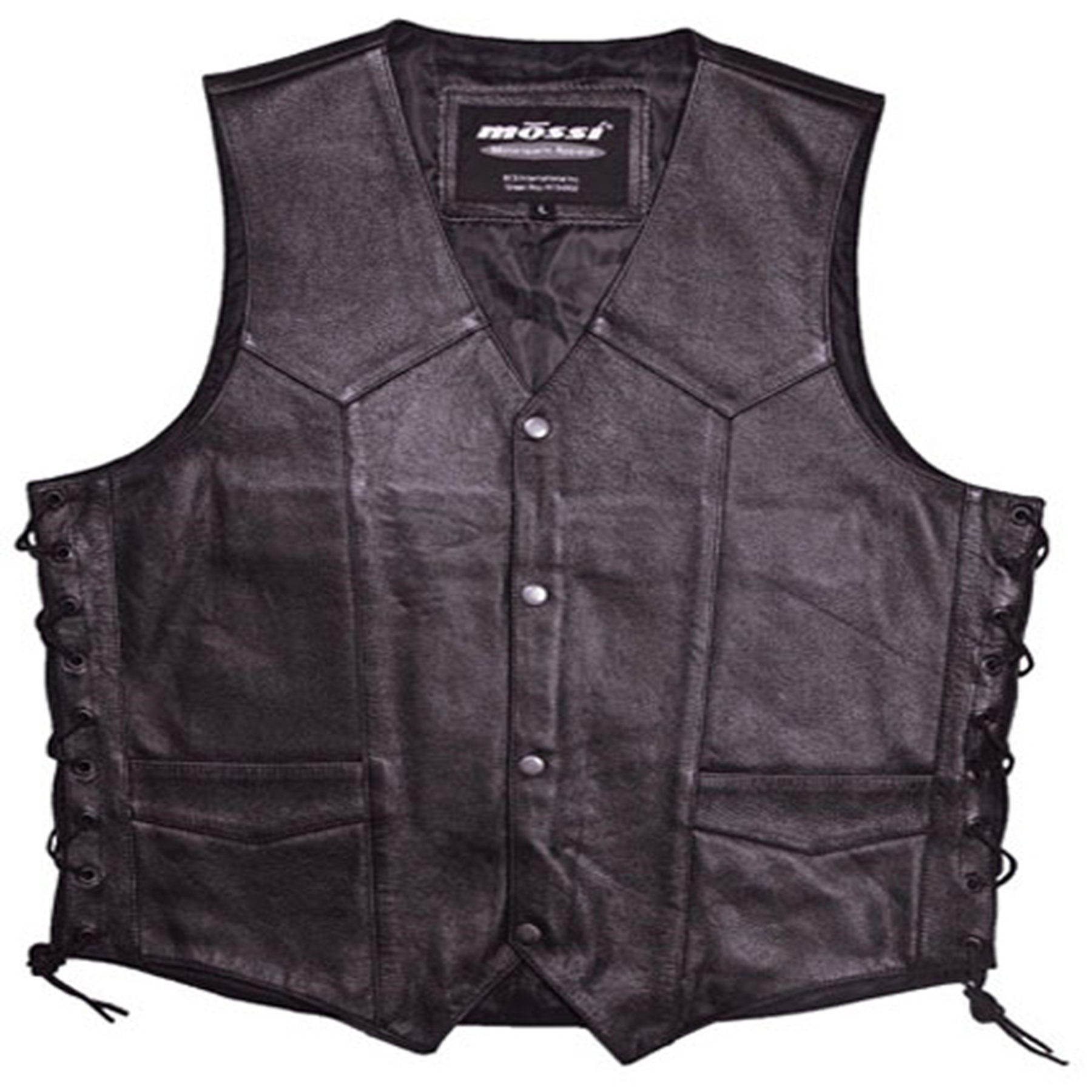 MOSSI MENS LIVE TO RIDE VEST SIZE 38 BLACK