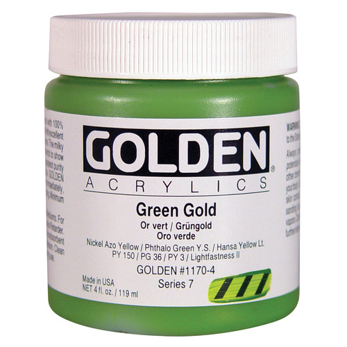 Golden Artist Colors 4 Oz Heavy Body Acrylic Color Paints
