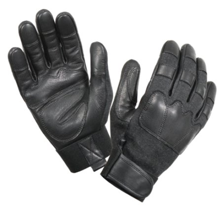 Cut and Flame Resistant Tactical Gloves in Black (Best Cut Resistant Tactical Gloves)
