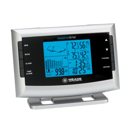 Meade Instruments TE653ELW-M Weather Station with Atomic Clock by Meade Instruments