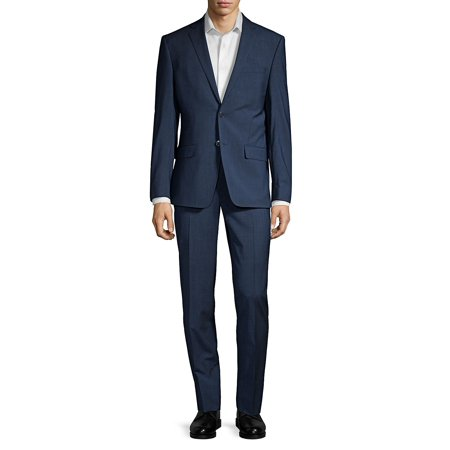 Wool-Blend Stretch Suit