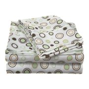 Simple Luxury Impressions Microfiber Sheet Set