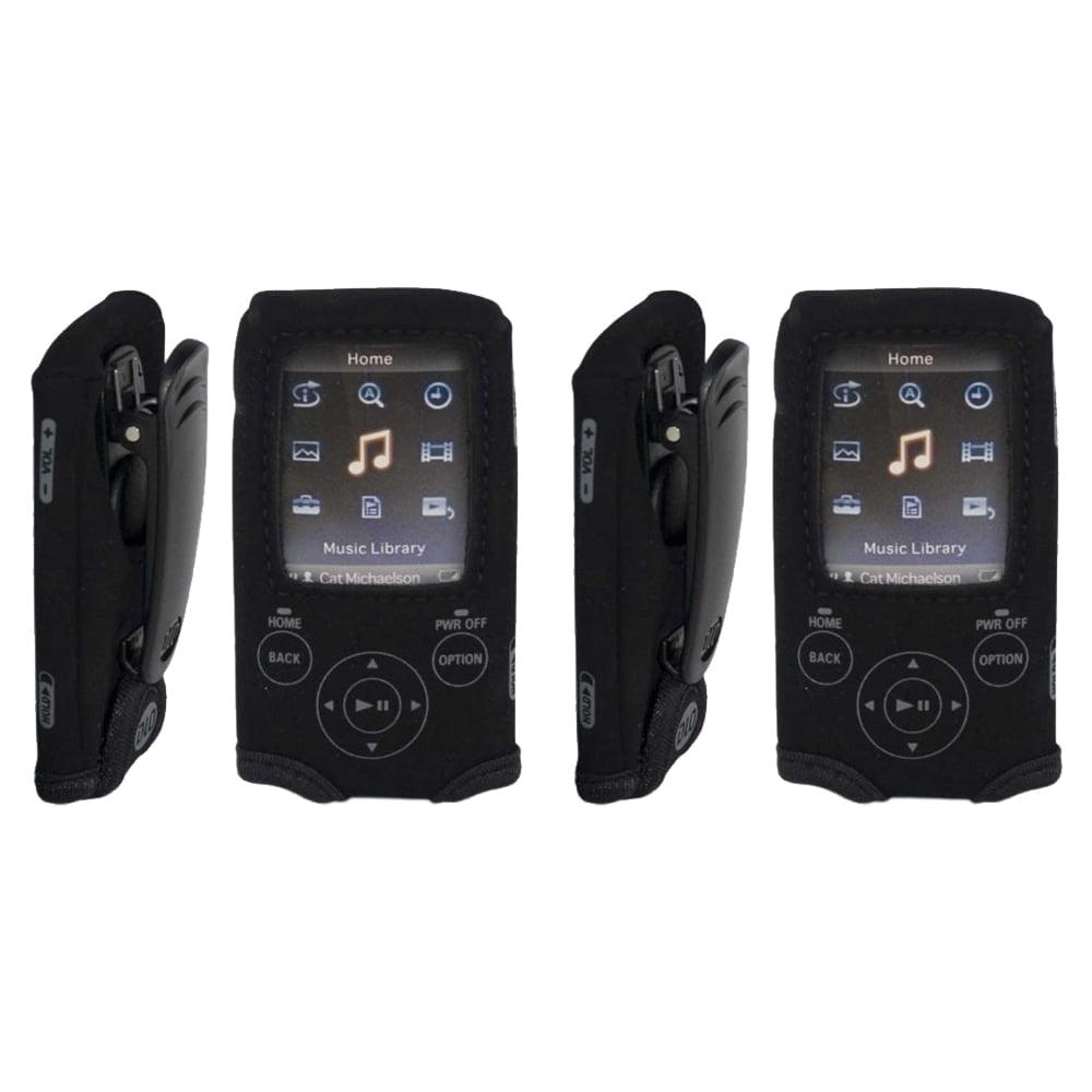 DLO DLA71037B Neoprene Action Jacket for Sony E-430 MP3 Player, Set
