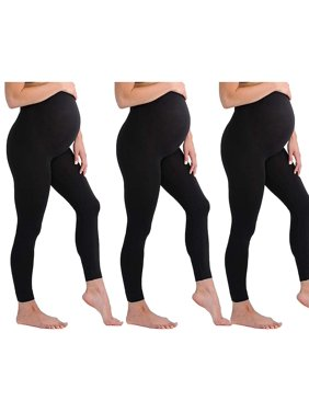 faef697ee82a4 Product Image Touch Me Maternity Leggings Black Navy Grey Soft Solid  Stretch Seamless Tights One Size Fits All