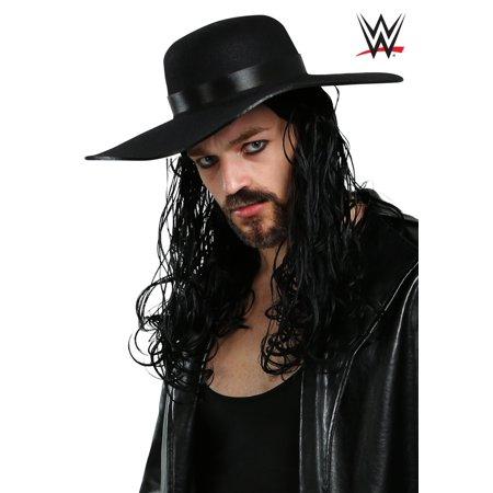 WWE Undertaker Wig for Men - Undertaker Halloween