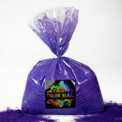 Color Powder Purple - 5 Pounds - Ideal for Color Runs, Holi Festivals, Color Wars and more!