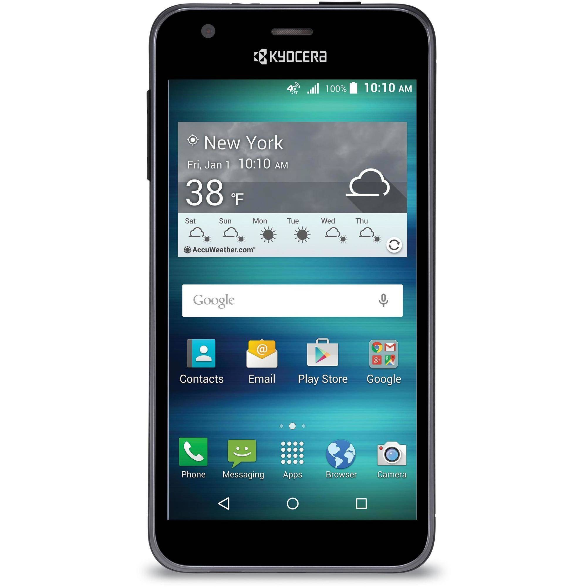AT Kyocera Hydro Air Prepaid Smartphone