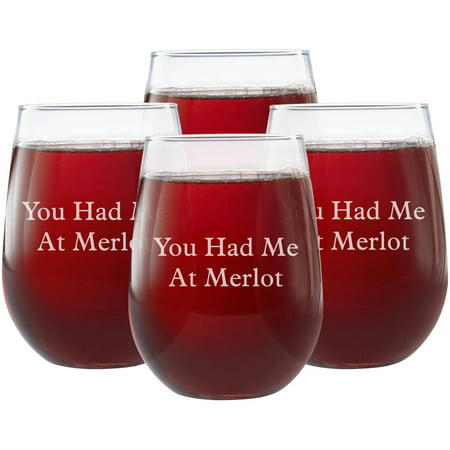 Script Glass (Personalized Create Your Own Stemless Wine Glass, Choose Block or)