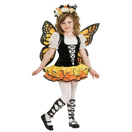 Girl's Monarch Butterfly Halloween (Children's Place Butterfly Costume)