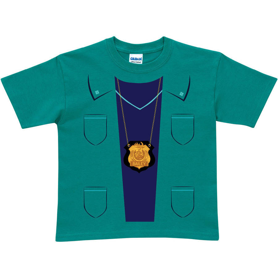 Personalized Odd Squad Medical Toddler Teal T-Shirt