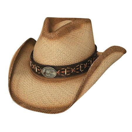 Bullhide Hats 2576 Left Handed Gun Small Natural Cowboy Hat