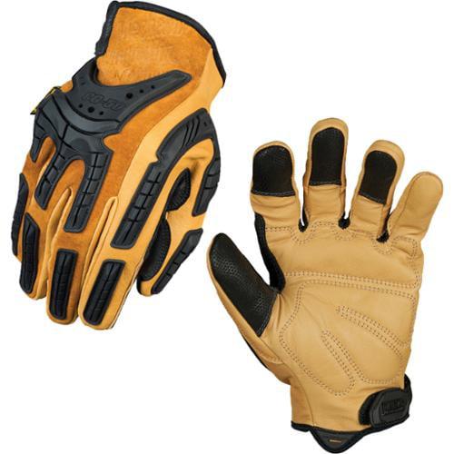 Mechanix Wear CG Full Genuine Leather Multipurpose Gloves - Medium