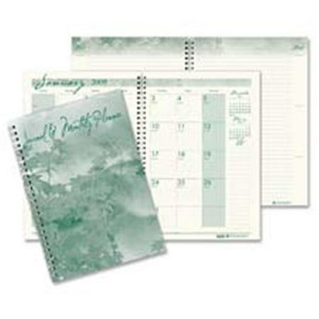 House of Doolittle HOD522 Monthly Journal- 12Mths- Jan-Dec- 2PPM- 7in. x10in- 100 Rld Pgs- CR-GN
