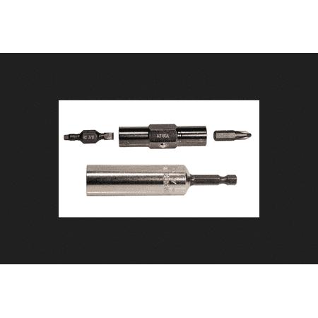 Klein Tools Multi Size Power Screwdriver Bit Set 1/4 in. Dia. 3 pc.](elements of power electronics krein)
