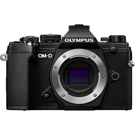 Olympus OM-D E-M5 Mark III Mirrorless Camera with Lens - Black