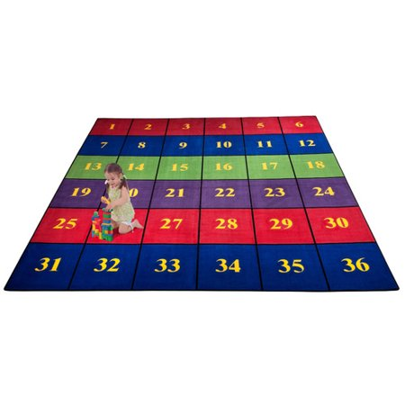 Kid Carpet Classroom Seating Squares Area Rug