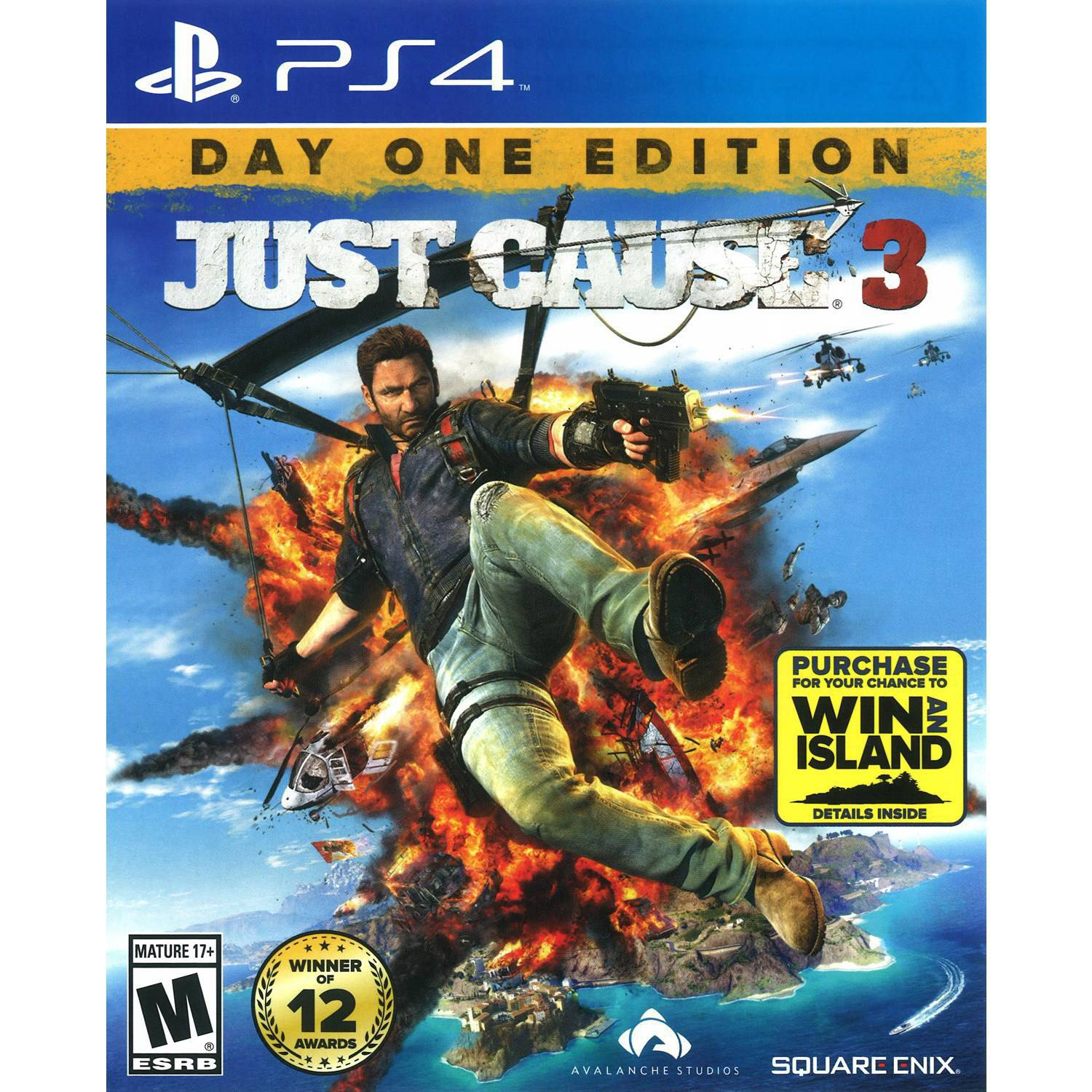 Just Cause 3 (Playstation 4) by Avalanche Studios