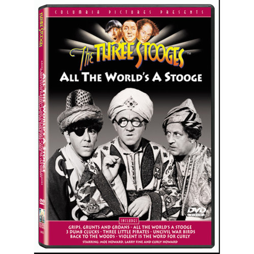 The Three Stooges: All The World's A Stooge (Full Frame)