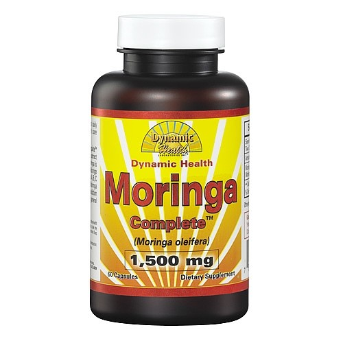 Dynamic Health Moringa Complete Capsules, 1500 Mg, 60 Ct