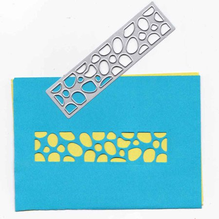 Boyijia DIY Metal Cutting Dies Geometric Stamp Paper Photo Card Cut Decorative Craft Stencils - image 1 of 6