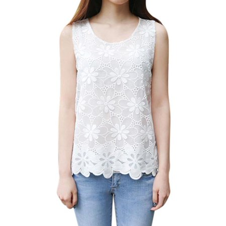 EFINNY Womens Summer Lace Hollow Floral -