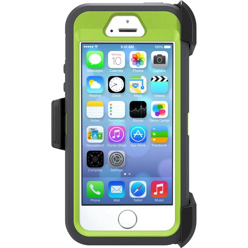 iPhone 5/5SE/5S Otterbox iphone defender case, key lime