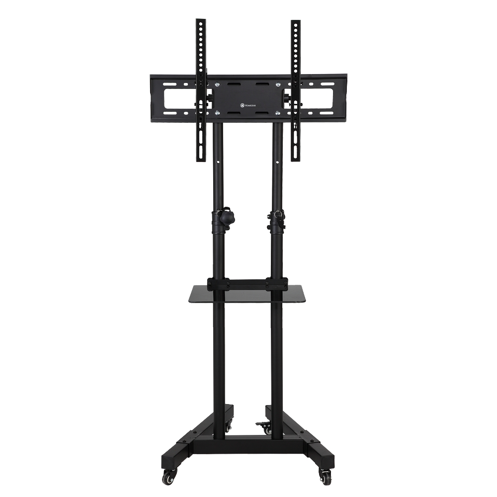 Homegear Portable Tv Stand With Height Tilt Adjustable Universal