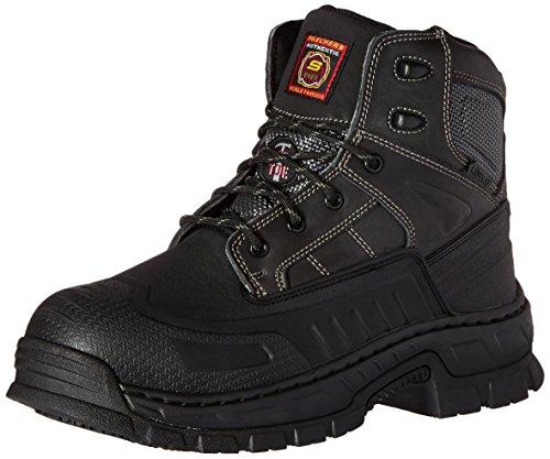 Skechers for Work Men's Vinton Work Boot, Black