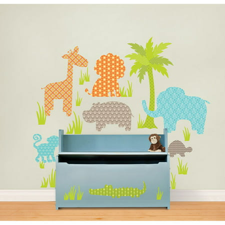 Wall Pops Jungle Friends Kit Wall Decals