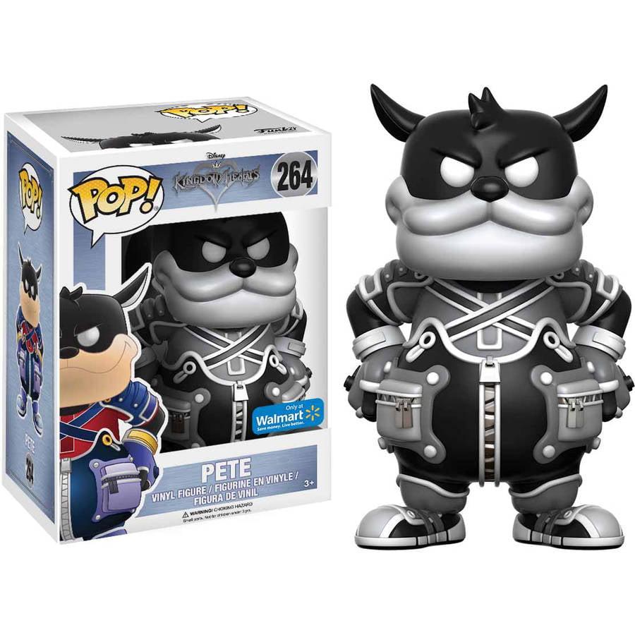Funko POP! Disney Kingdom Hearts Pete Black and White Vinyl Figure, Walmart Exclusive