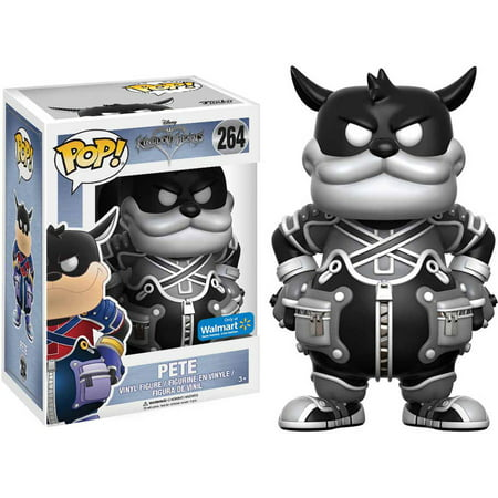 Funko POP! Disney Kingdom Hearts Pete Black and White Vinyl Figure, Walmart Exclusive
