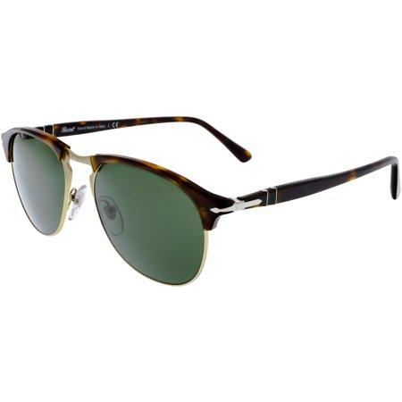 Persol PO8649S-24/31-53 Brown Oval Sunglasses