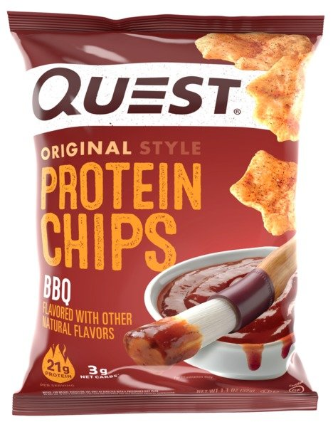 QUEST BBQ FLAVORED PROTEIN CHIP